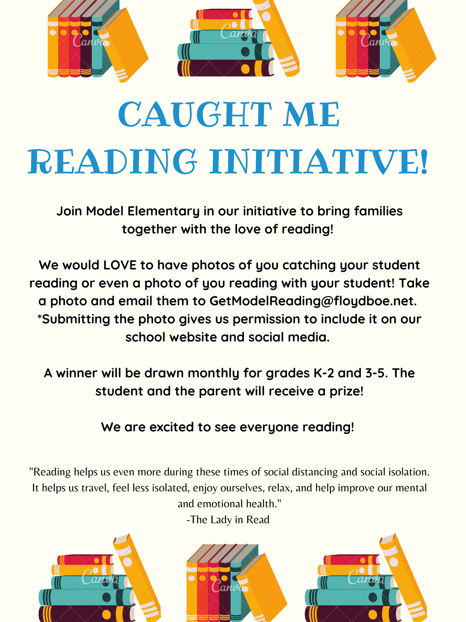 Catch me Reading Initiative