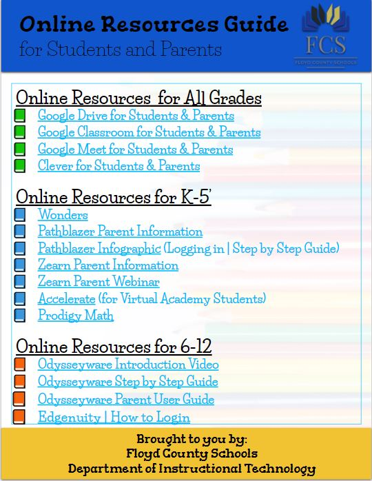 Online Resources Guide