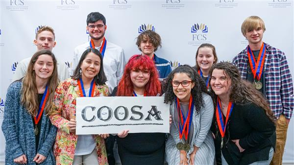 Coosa High School Wins Floyd County Schools Academic Decathlon